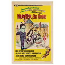 Munster, Go Home One Sheet Poster.