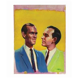 Smothers Brothers Promotional Painting.