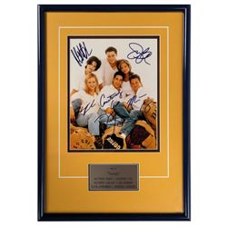 Friends Cast Signed Photo.