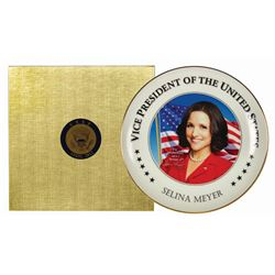VEEP Promotional Launch Commemorative Plate.