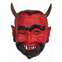 Winking Devil Head Charm.