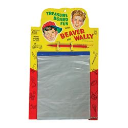 Treasure Board Fun with Beaver and Wally Super Slate.