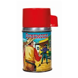 Gunsmoke Thermos.