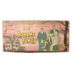 The Addams Family Bubble Gum Card Box.