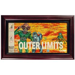 The Outer Limits Framed Board Game.