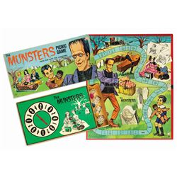 Butch Patrick Signed The Munsters Picnic Game.