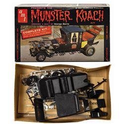 Munster Koach Model Kit.