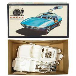 The Man From U.N.C.L.E. Car Model Kit.