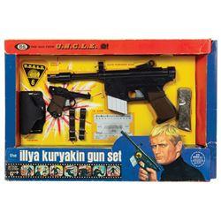 The Man From U.N.C.L.E. Illya Kuryakin Gun Set.