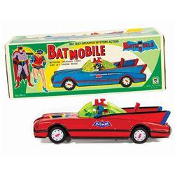 Batmobile Tin Toy.
