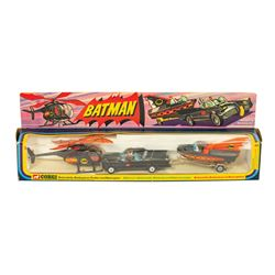 Batman Batmobile, Batboat, & Batcopter Play Set.