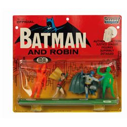 Batman and Robin Justice League of America Figure Set.