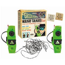 The Green Hornet Walkie Talkies.