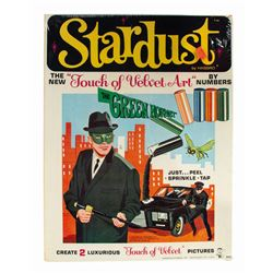 The Green Hornet Stardust Art By Numbers Set.