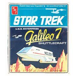 Star Trek Galileo 7 Shuttlecraft Model.