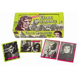 Dark Shadows Bubble Gum Card Box with (4) Cards.