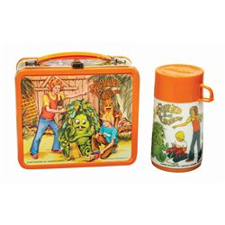 Sigmund and the Sea Monsters Lunch Box and Thermos.