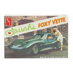 Farrah's Foxy Vette Model Kit.