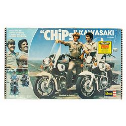 CHiPs Kawaski Police Motorcycle Model.