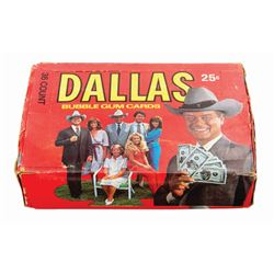 Set of (36) Dallas Trading Cards Wax Packs in Box.