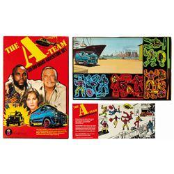 The A-Team Colorforms Adventure Set.