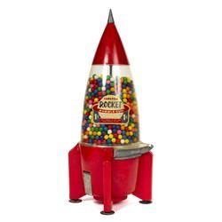 Carlton Rocket Gumball Machine.