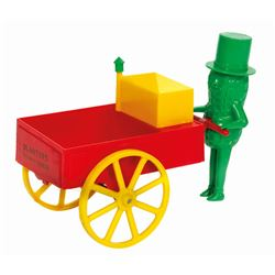 Mr. Peanut  Planters Peanut Vendor  Wagon Toy.