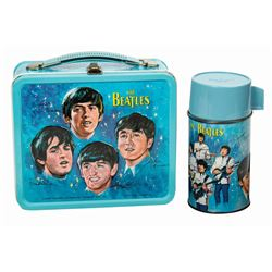 The Beatles Lunch Box and Thermos.