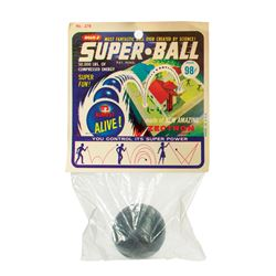 Unopened 1965 Super Ball by Wham-O.