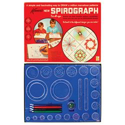 Spirograph Drawing Toy.