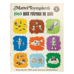 1969 Mattel Toymakers Quick Reference Toy Guide.