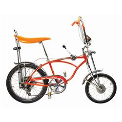 Schwinn Sting-Ray Orange Krate Bicycle.
