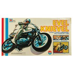 Evel Knievel 3-D Wall Plaque.