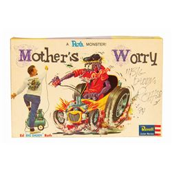 Signed Mother's Worry Big Daddy Roth Model Kit.