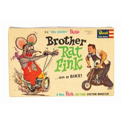Brother Rat Fink Big Daddy Roth Model Kit Box.