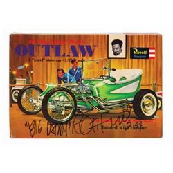 Signed Outlaw Big Daddy Roth Model Kit.
