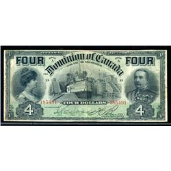 DOMINION OF CANADA 1902 $4.00 DC-17b Fine