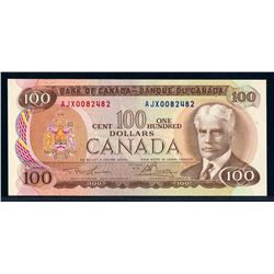 BANK OF CANADA 1975 $100.00, BC-52aA-i Replacement Note UNC-64