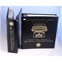 USA 1999-2008 A 2 Binder Collection of New England Mint Collection Uncirculated