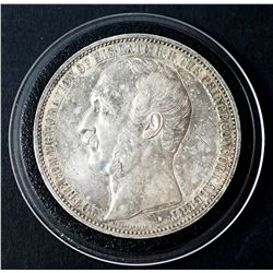 1862 Great Britain International ExpositionSilver Medal Commorating the Late Prince Albert
