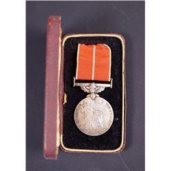 ENGLAND Circa 1946 British Empire Medal (Military) Named to a CDN. w/box & ribbon
