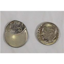 USA 1972-1997 A Lot of 2 Roosevelt Ten Cents Error Coins That Should be Viewed