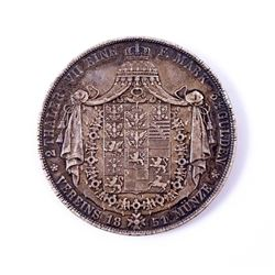 1851 Germany Prussia KM# 440.2 2 Thaler 37.1 gms Very Fine