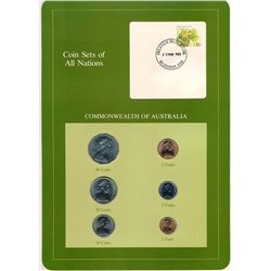 WORLD Coin Sets of All Nations Volume I of III Francklin Mint Stamp and Coin Cards.