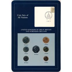 WORLD Coin Sets of All Nations Volume II of III Franklin Mint Stamp and Coin Cards
