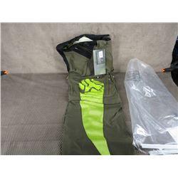 Fox Motorcycle Short Cut Pants W30 Zipper Leggings