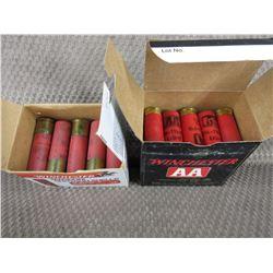 12 ga - 2 Part Boxes #2 Shot 15 Rnds - #7 1/2 Shot Rnds