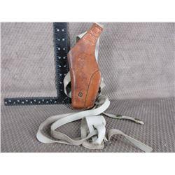 Leather Shoulder Holster - Hunter #52