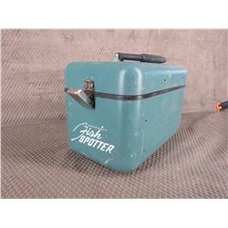 Metal Fish Spotter Heath Kit Box