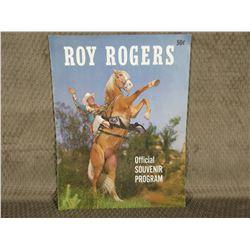 Roy Rogers Official Souvenir Program